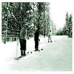 The Grizzly Ridge ski resort, above, near Vernal, opened in 1960. The owner built a T-bar tow from war surplus items.