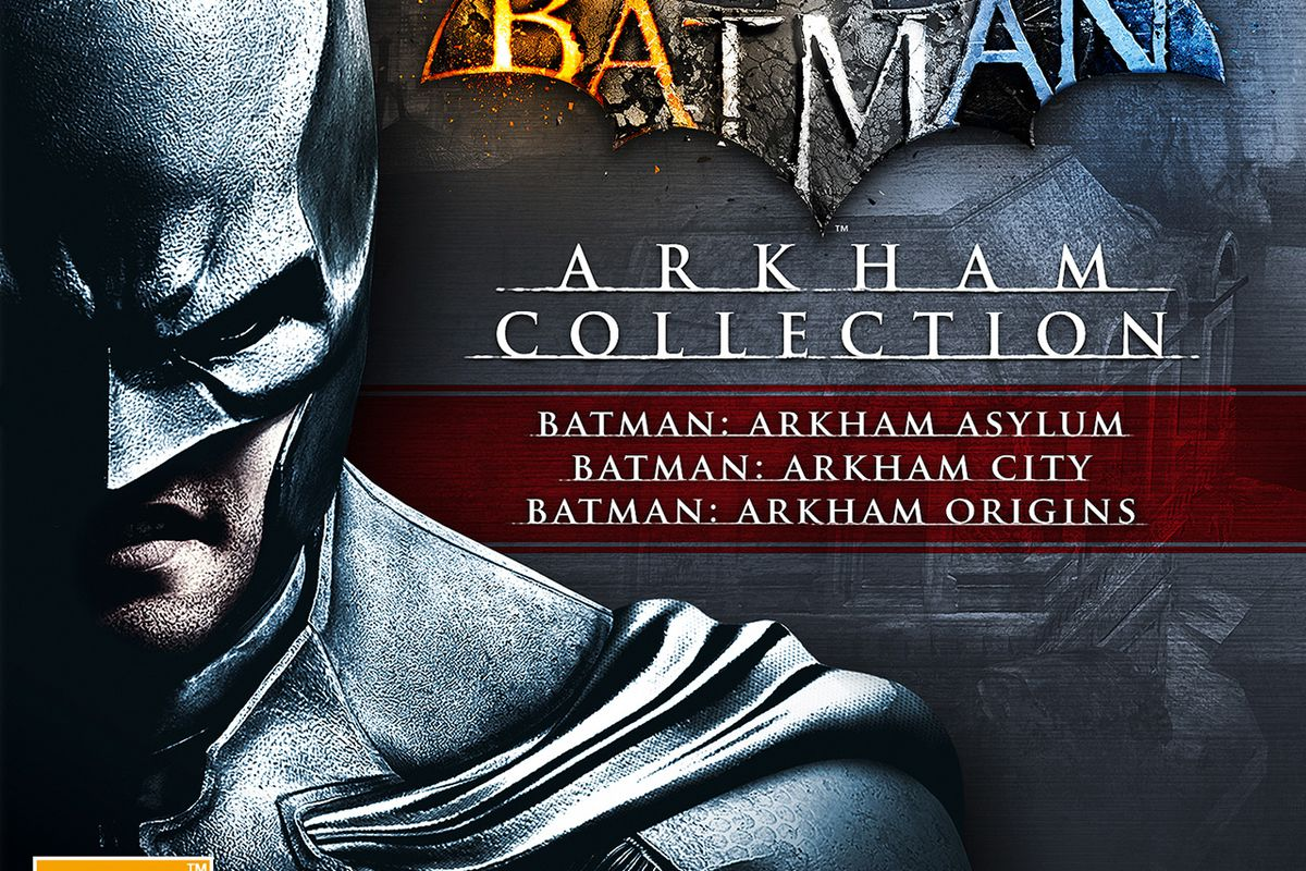Three-game Batman  Arkham Collection coming to UK Nov. 22 (update ... 41f38009e19