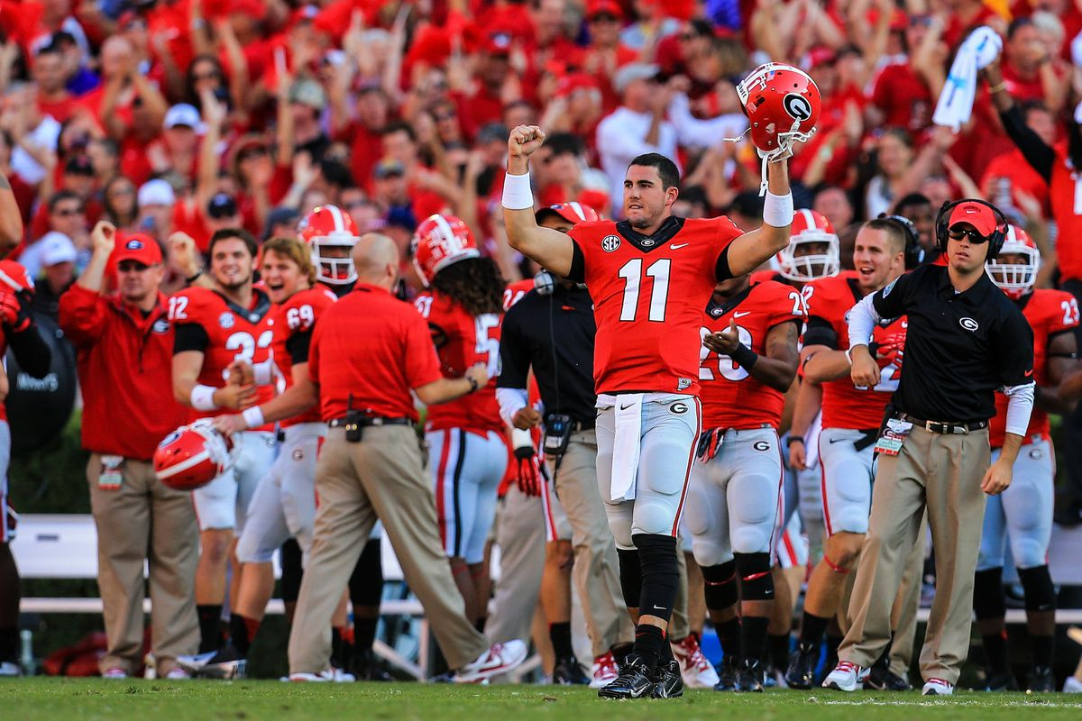Aaron Murray and the Bulldogs have recovered their pre-season standing.
