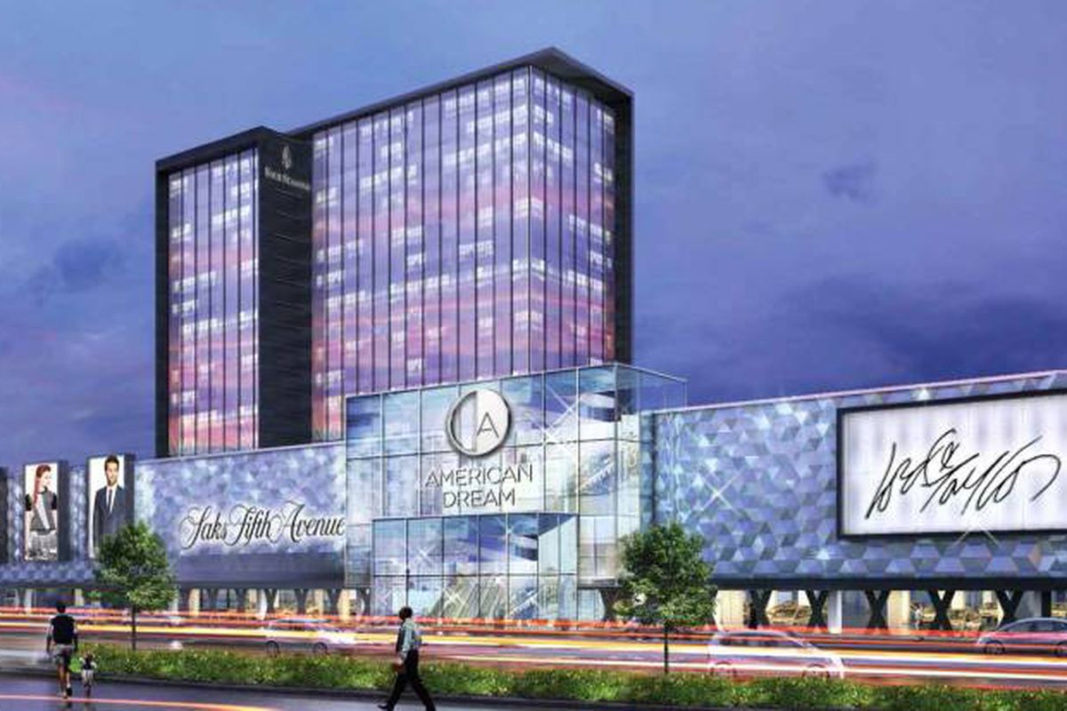 """Rendering: Triple Five, via <a href=""""http://www.northjersey.com/news/retail-giants-lining-up-american-dream-says-1.1148277?page=all"""">North Jersey</a>"""