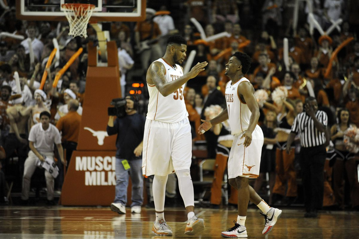 Ridley-Taylor ball screens are a major part of Texas' attack.