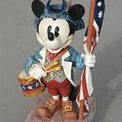 Jim Shore's newest line features Walt Disney characters, including a very patriotic Mickey Mouse.