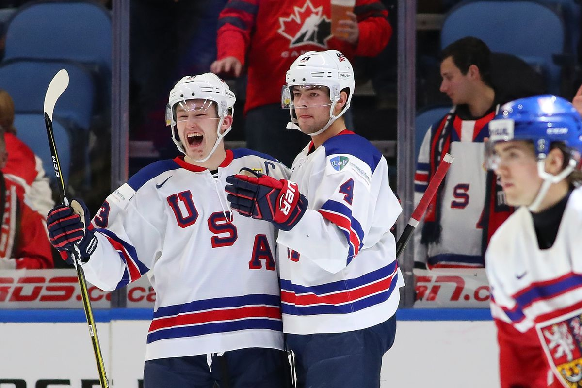 2019 World Juniors  Team USA Preliminary Roster Reaction - SB Nation ... d5ebdf06d6a