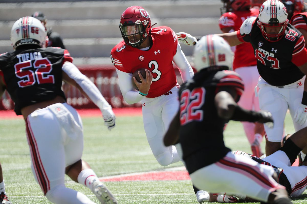 Utah freshman Ja'Quinden Jackson could be a secret weapon for Utah's offense this season.