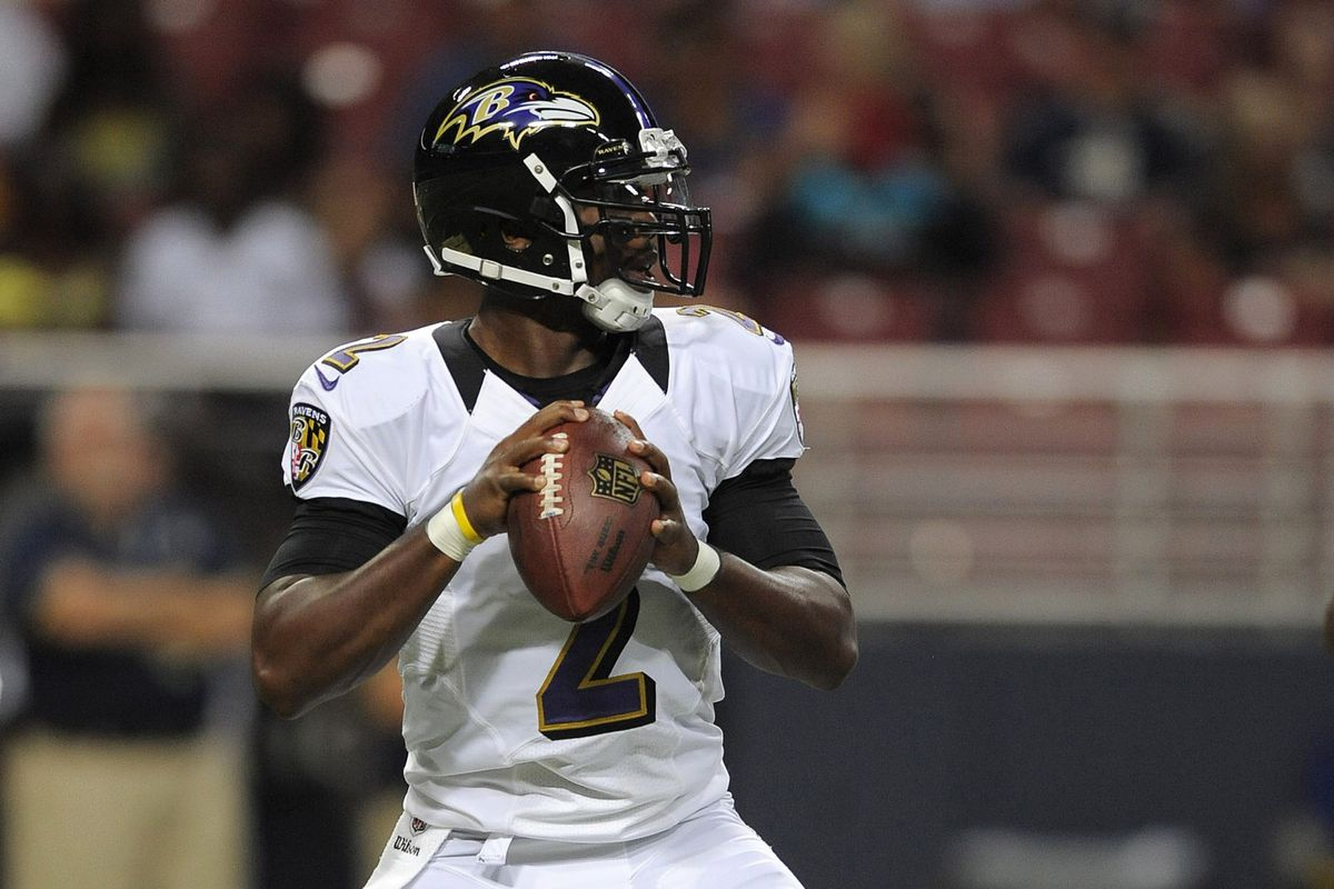 If Tyrod Taylor is able, he'll play a good bit against the Rams Thursday night.