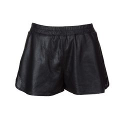 """Trish perforated leather shorts, <a href=""""http://www.scoopnyc.com/trish-perforated-leather-shorts.html"""">Scoop</a>, $295"""