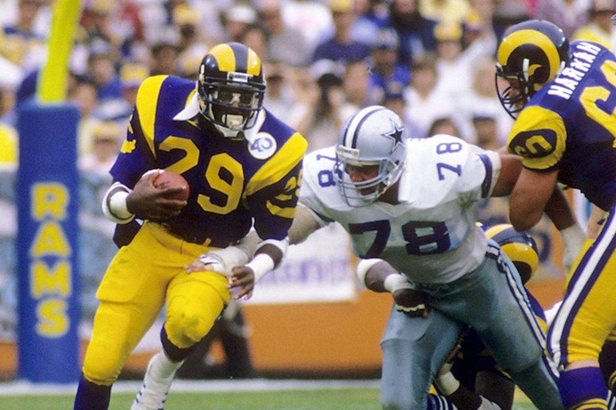 Los Angeles Rams Ban Eric Dickerson From Sidelines - Turf Show Times