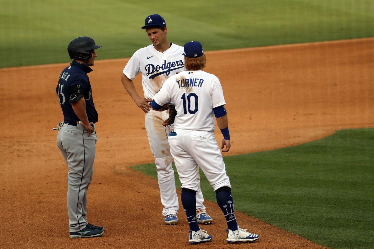 MLB: AUG 18 Mariners at Dodgers