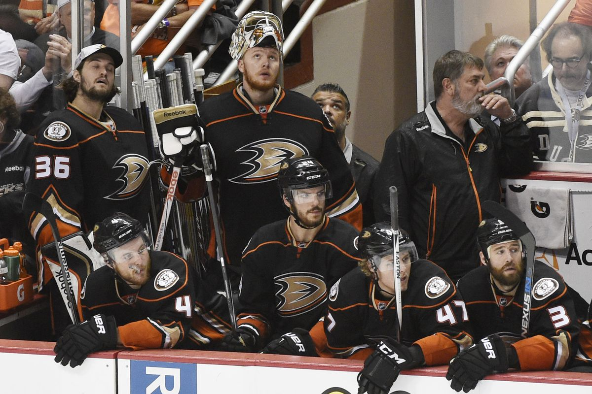 The Ducks are once again looking up at another team hoisting the Cup, but things are also looking up for the franchise.