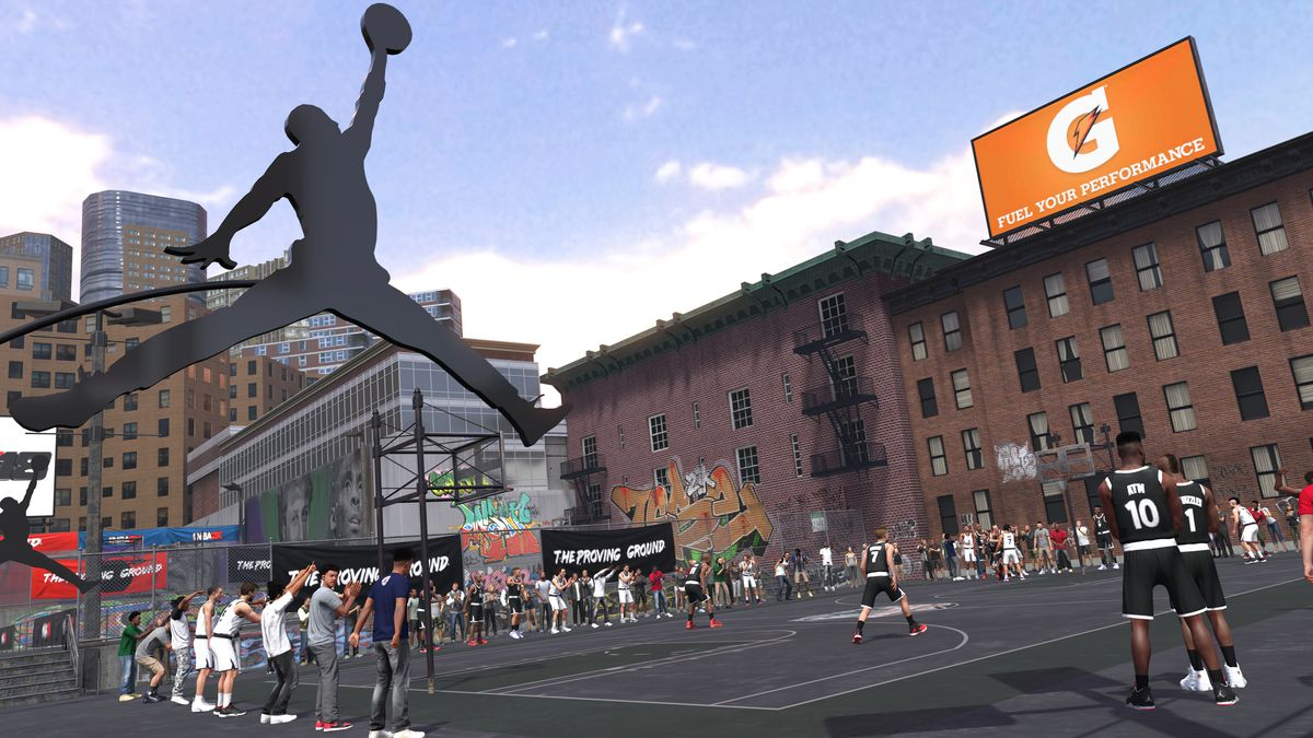 NBA 2K18 - Jordan Proving Ground
