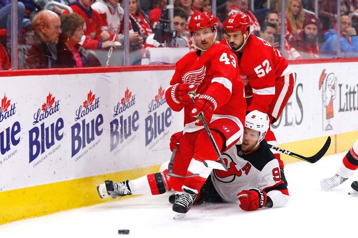 cheap for discount e7c1a 5a7ad New Jersey Devils vs Detroit Red Wings: Updates, Lineups ...