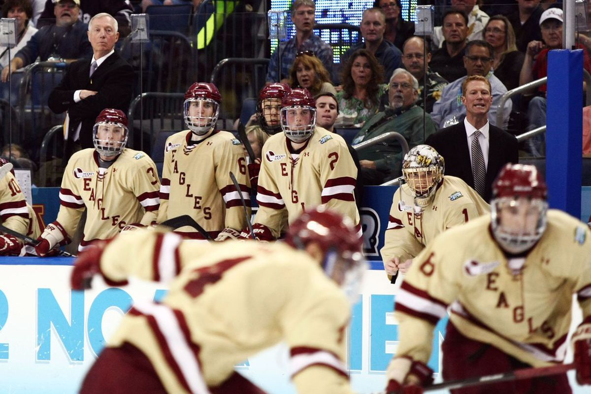 Sonny Milano will play college hockey for Jerry York at Boston College.