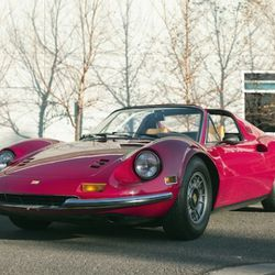 The '74 Ferrari Dino GTS and 806XLTXM present lavish styling and highly respected design. Both come together to forge a unique style that is only paralleled by their revered heritages.