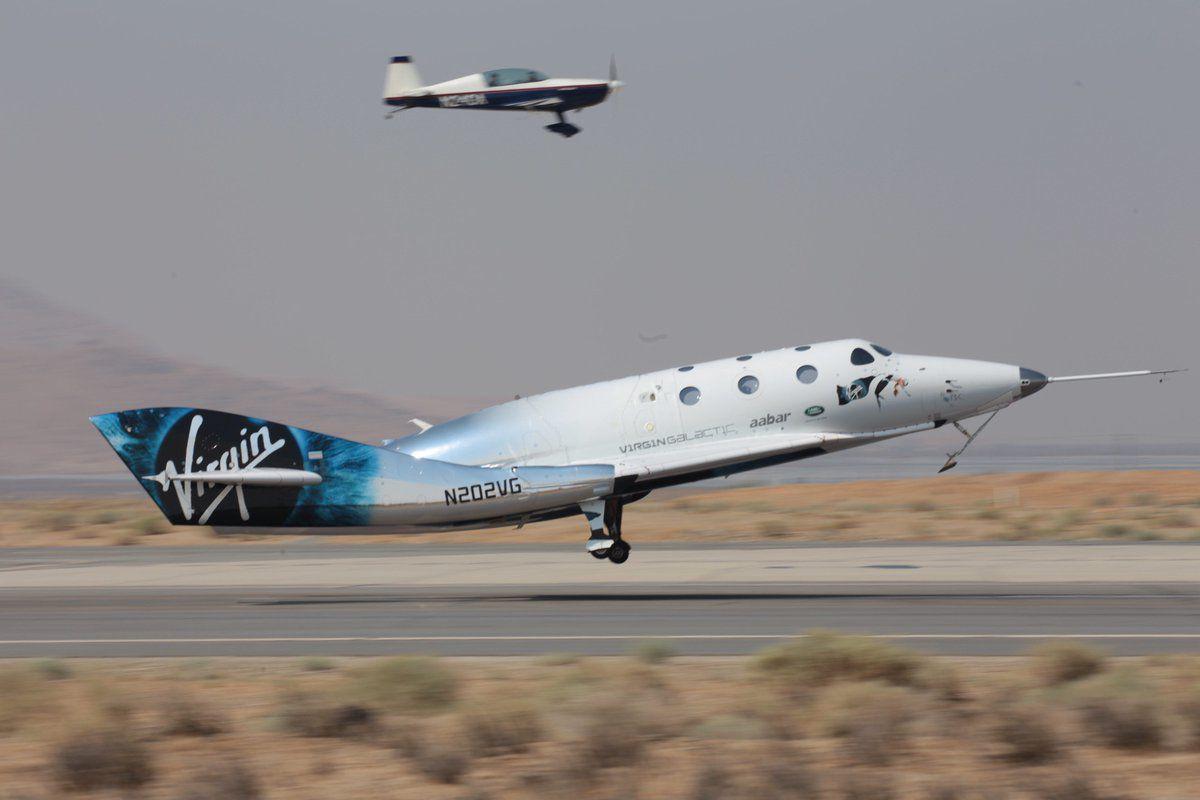 Virgin Galactic's spaceplane flew higher than ever before in