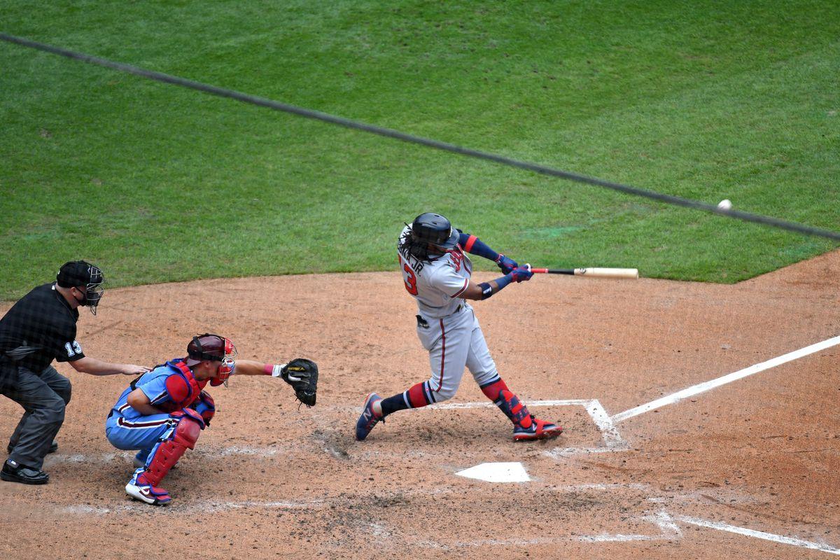 MLB: Game One-Atlanta Braves at Philadelphia Phillies