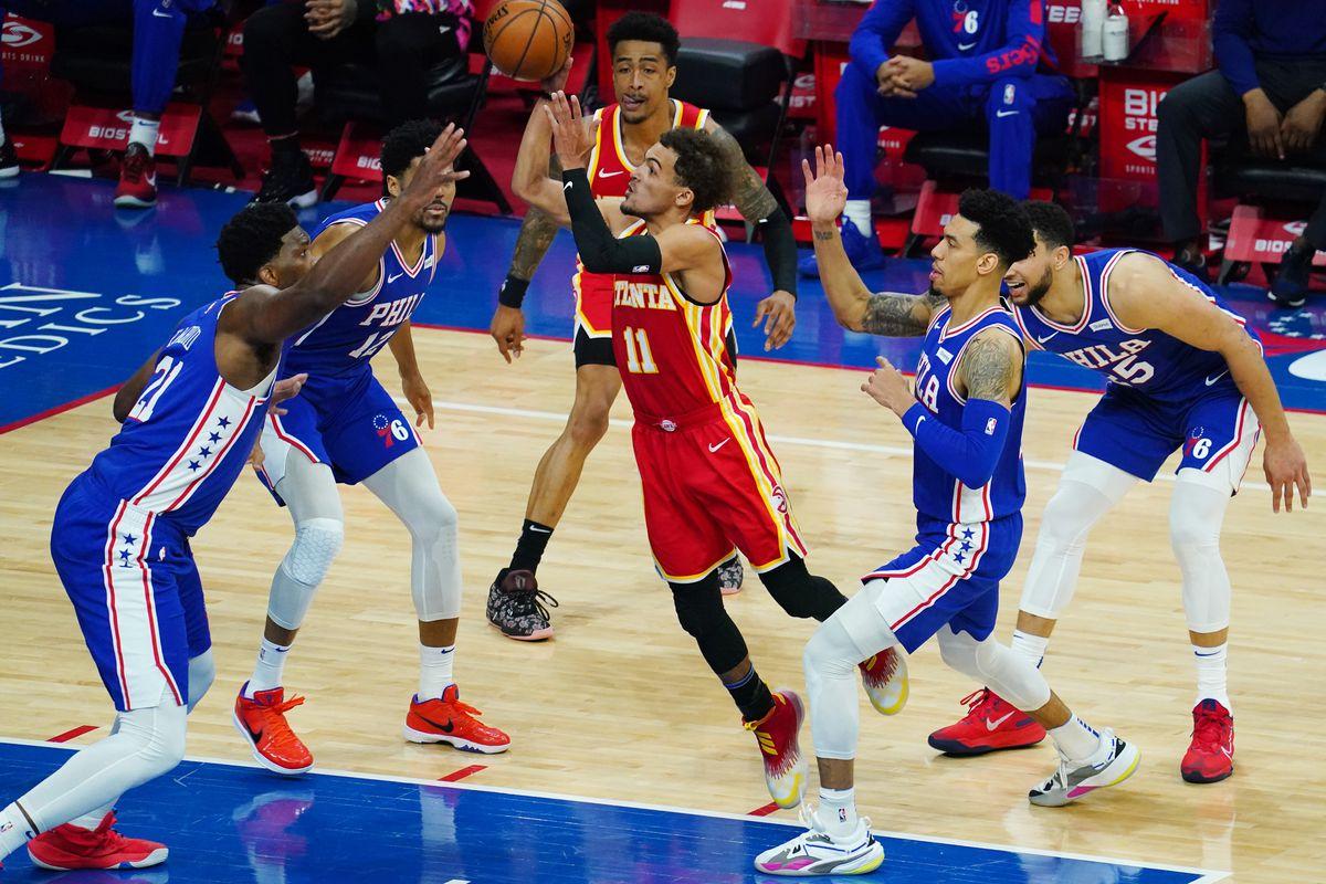 NBA: Atlanta Hawks at Philadelphia 76ers