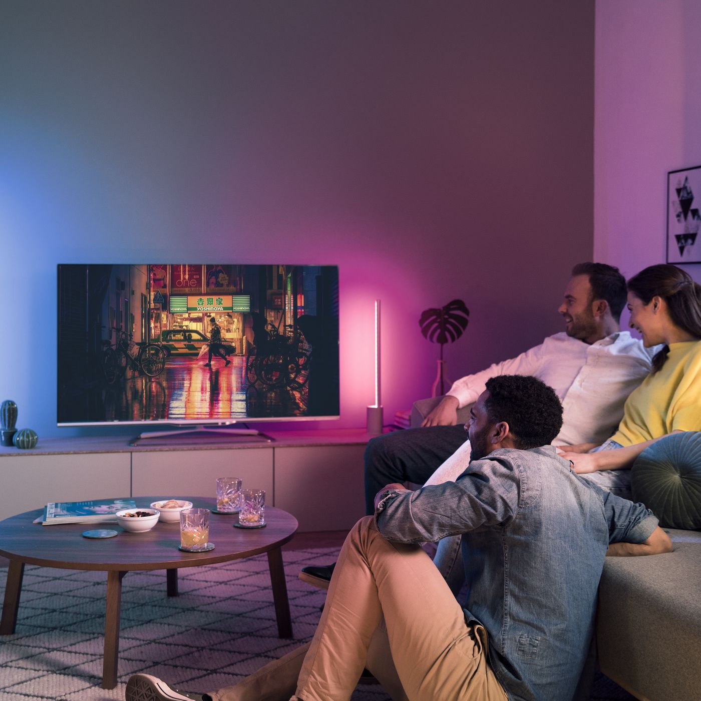 The Latest Philips Hue Lights Project Color Onto Walls