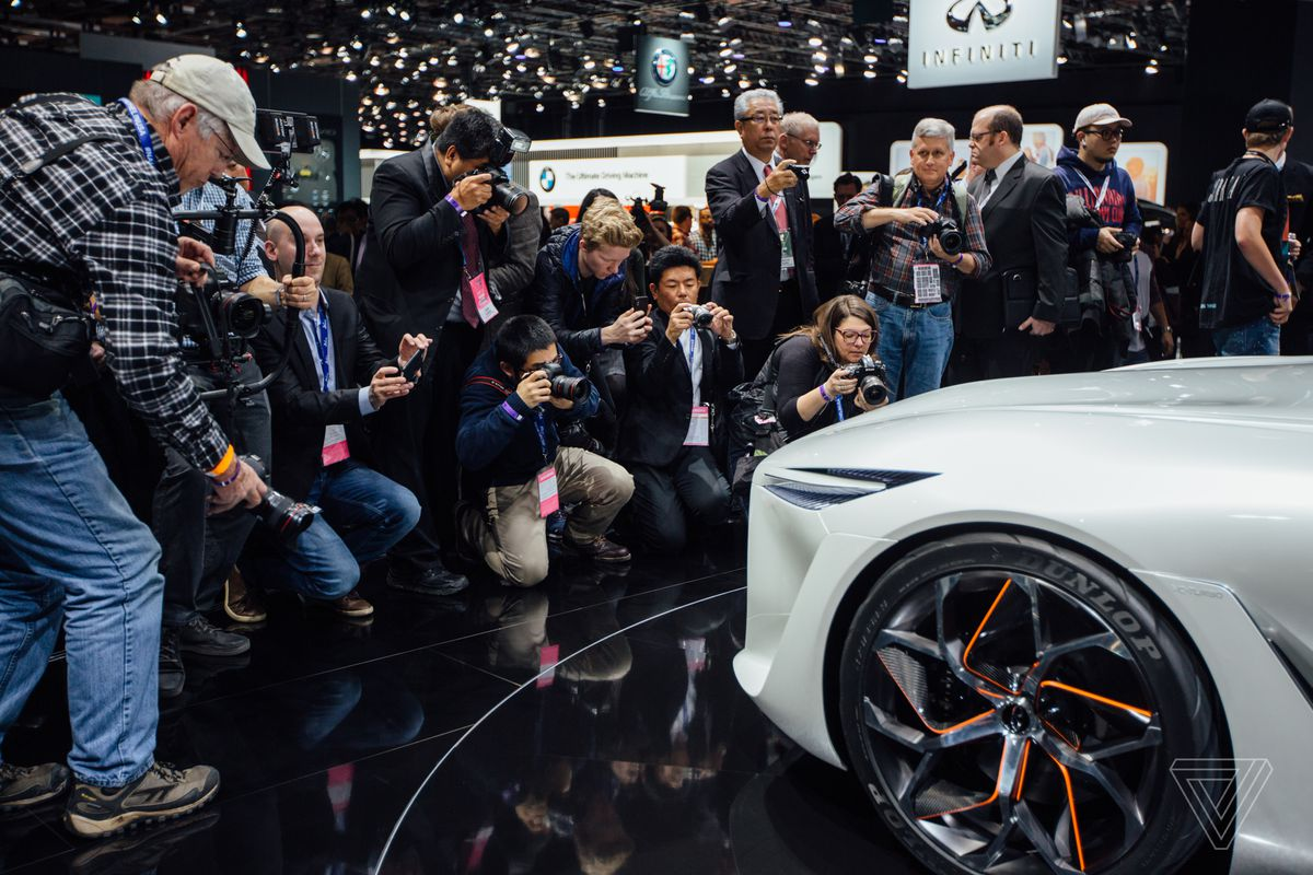 The Detroit Auto Show In Pictures The Verge - New car show
