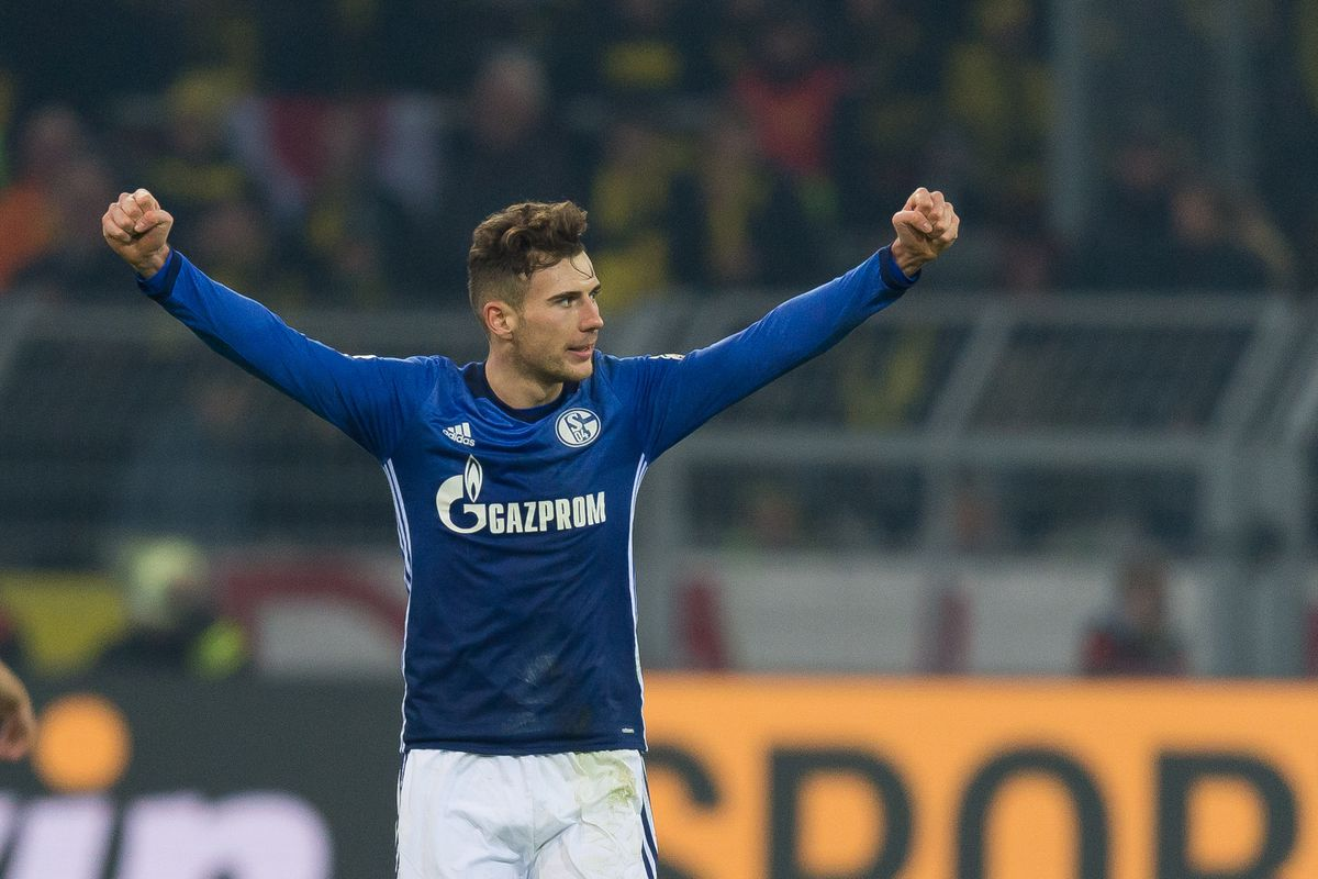 Official Bayern Munich Signs Leon Goretzka From Schalke Bavarian Football Works