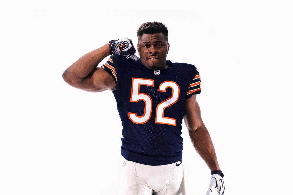 huge selection of 813a8 cade3 This grotesque image of Khalil Mack NFL tweeted out has ...