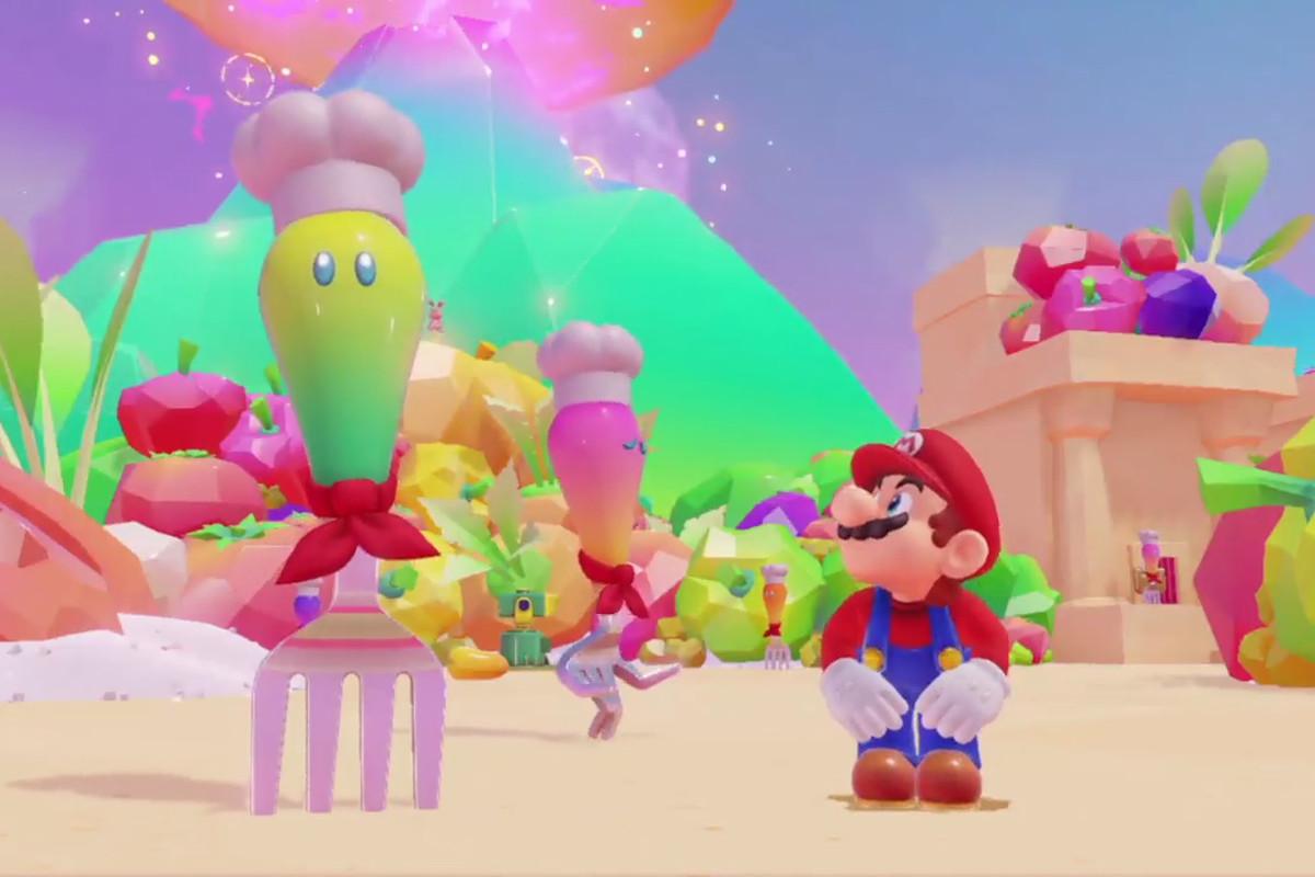 Mario in Super Mario Odyssey