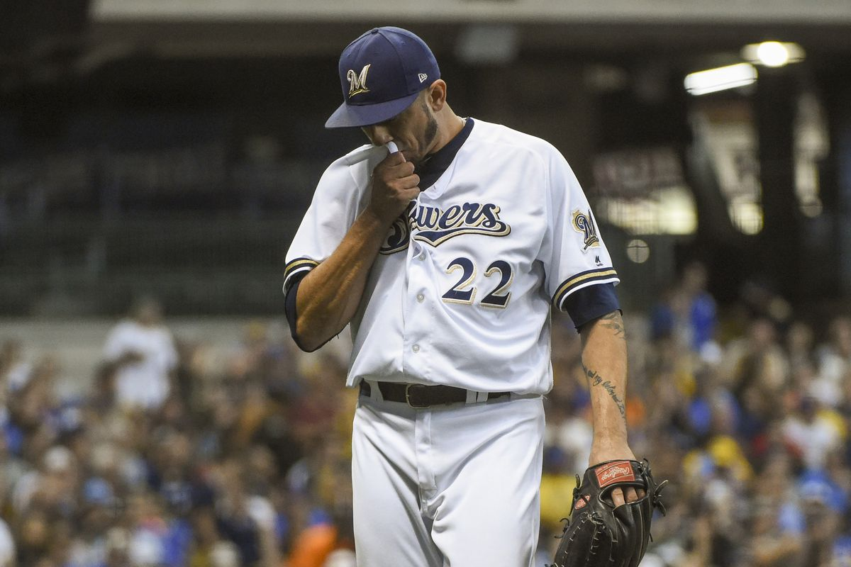 the best attitude 5a7b3 e1a02 Matt Garza doesn't have a 2018 team option with the ...