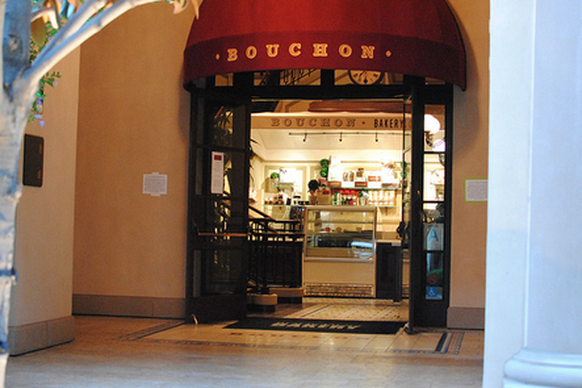 Outside Bouchon, Beverly Hills.
