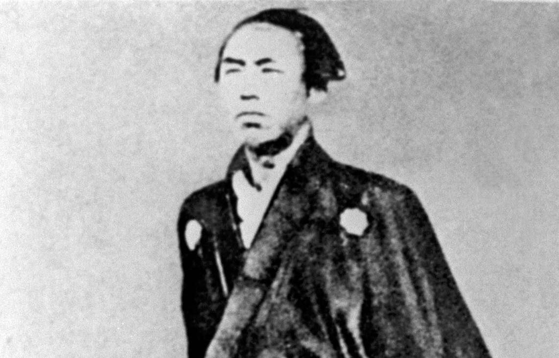 A samurai as photographed in 1866