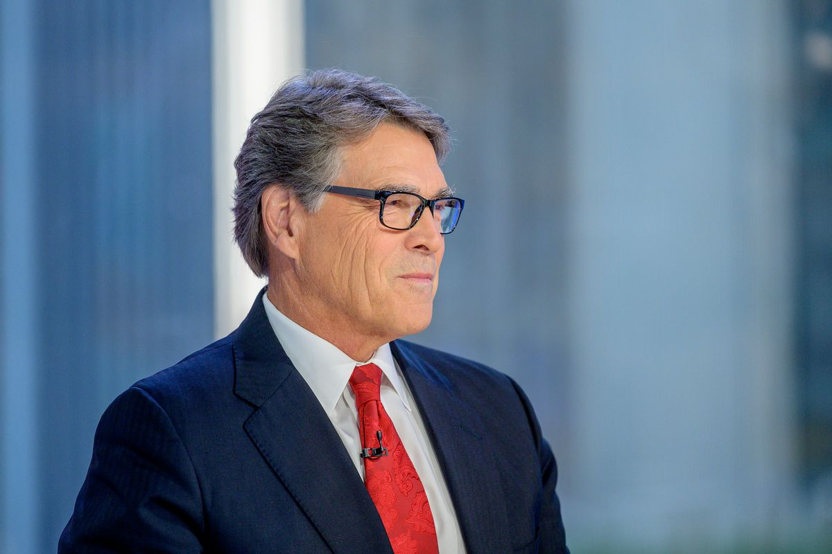 US.Energy Secretary Rick Perry.