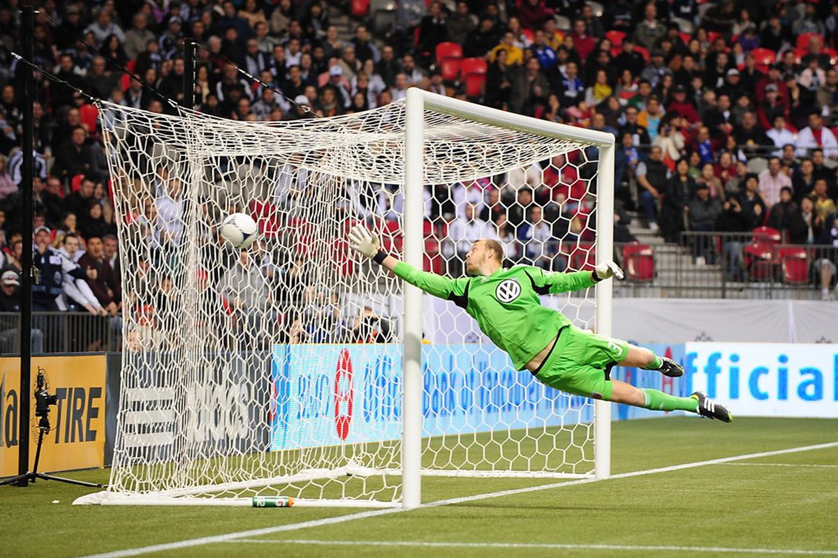 Joe Willis will continue to man the net against FC Dallas.