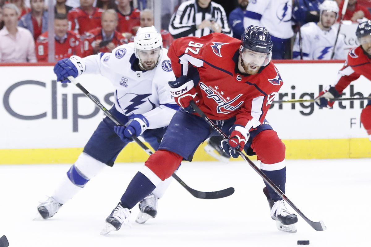 9b166b980de Tampa Bay Lightning at Washington Capitals preview  They re playing each  other again!