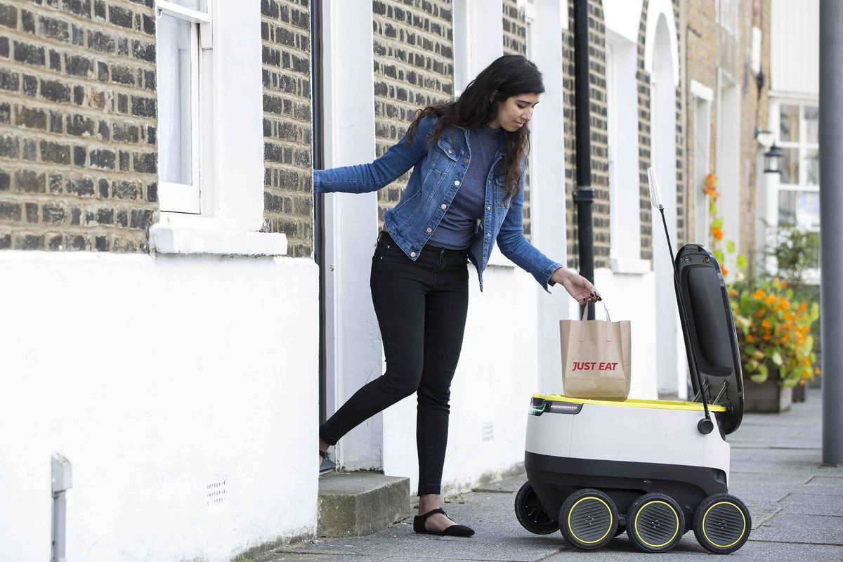 Robots will hit the streets to deliver your groceries this fall in Washington, D.C.