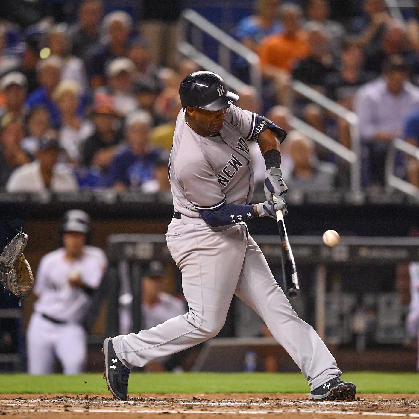 72707838a1b Miguel Andujar s hitting is invaluable to the Yankees - Pinstripe Alley