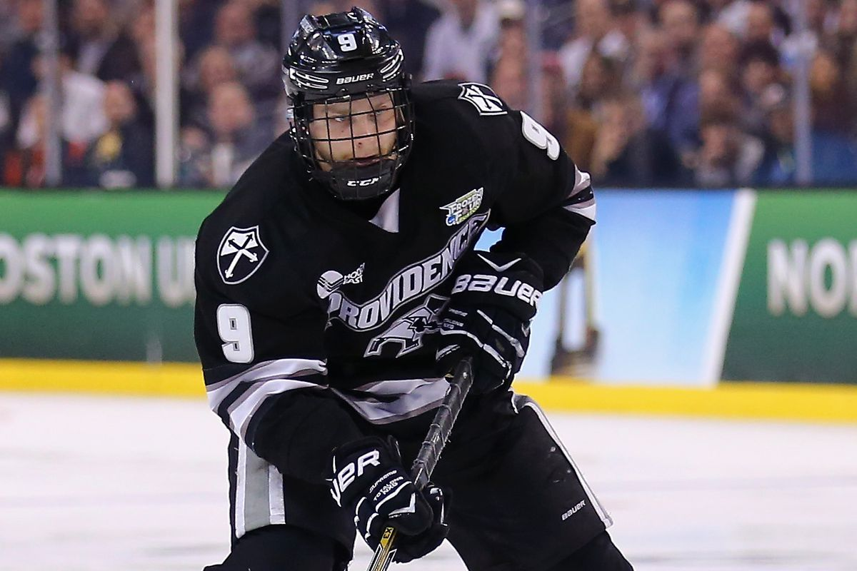 Mingoia tallied a career-high four points in No. 2 Providence's 7-3 win over No. 18 Miami on Friday.