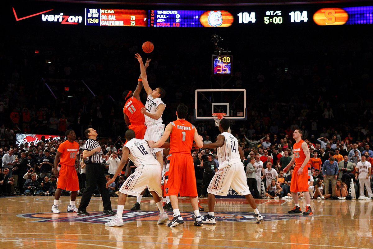 Big East Tournament: Syracuse Orange v Connecticut Huskies
