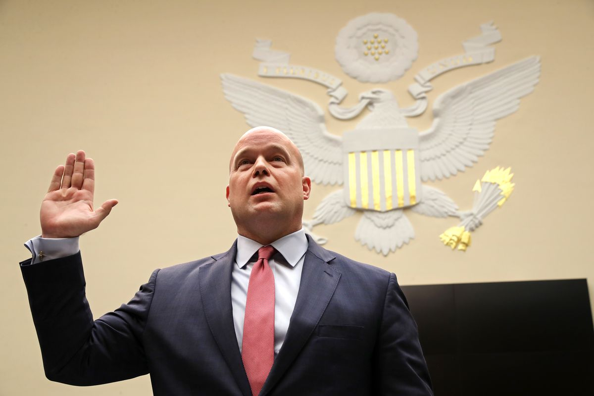 Acting AG Matthew Whitaker Testifies Before House Judiciary Committee