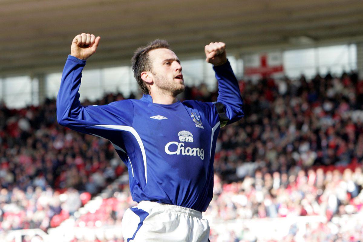 Soccer - FA Barclays Premiership - Middlesbrough v Everton - The Riverside