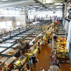 """Located in the Historic Third Ward, the <b><a href=""""http://www.milwaukeepublicmarket.org/main.html"""">Public Market</a></b> is a great place to check out local foods (read: cheese) and drinks (read: beer). It's especially fun during the summer with the outd"""
