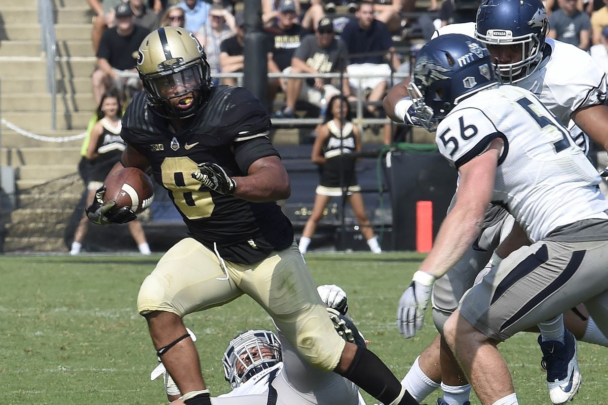 Purdue Opens as Favorite at Nevada - Hammer and Rails