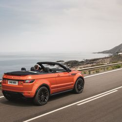 Land Rover S Evoque Convertible Is The Drop Top Luxury