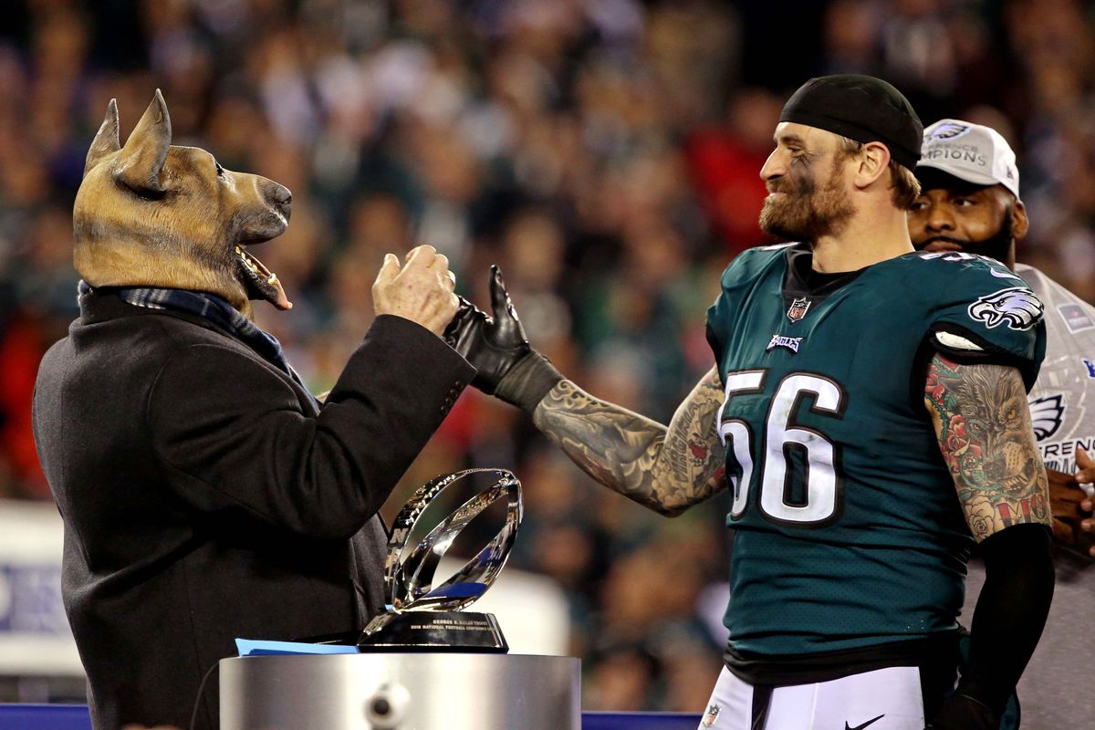 Virginia Alum Chris Long Celebrates Nfc Championship With