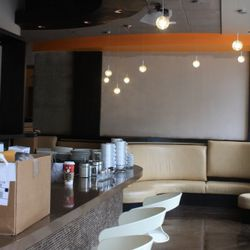 Crave's bar and lounge area that will be open from morning until late-night.