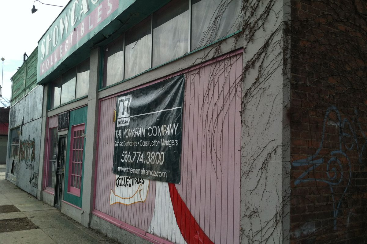 The future location of 8 Degrees Plato's Detroit bottle shop and bar.