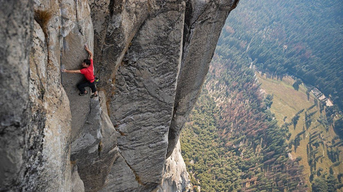 free solo rock climbing documentary