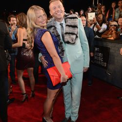 Macklemore and his main squeeze Tricia Davis.