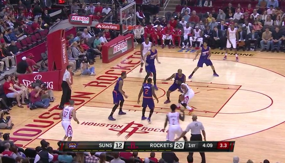Harden is stopped, decision time upcoming