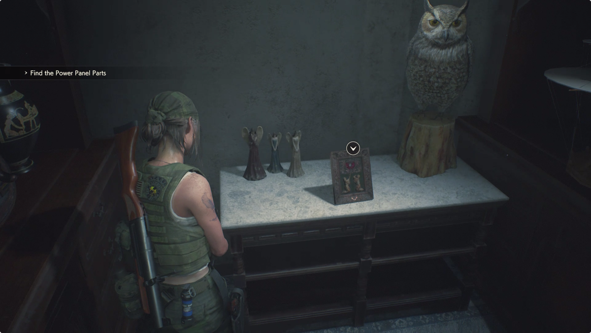 Resident Evil 2Heart Key Claire location