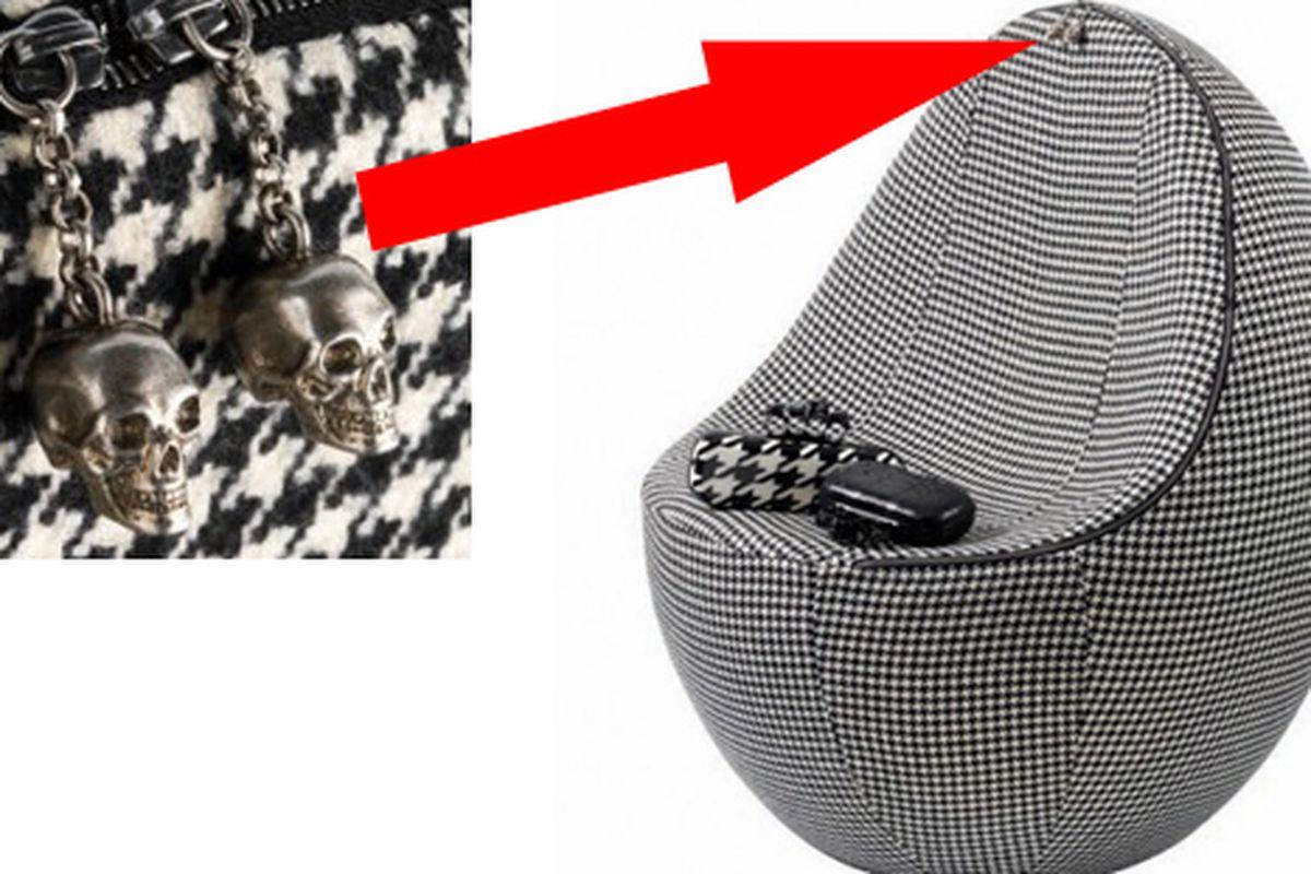 "Images via <a href=""http://www.nitrolicious.com/blog/2009/09/01/limited-edition-alexander-mcqueen-egg-chair/"">Nitrolicious</a>"