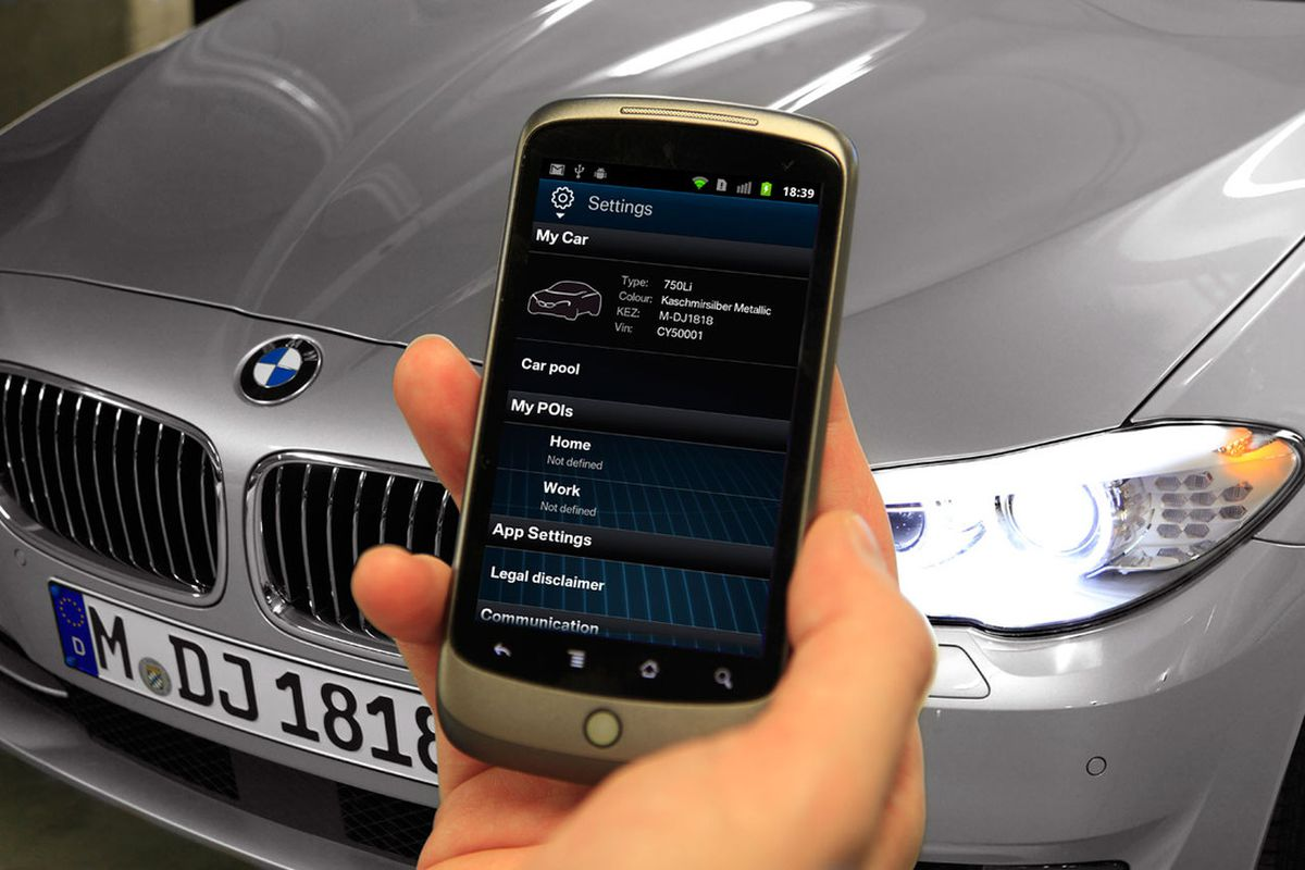 My BMW Remote app coming to Android - The Verge