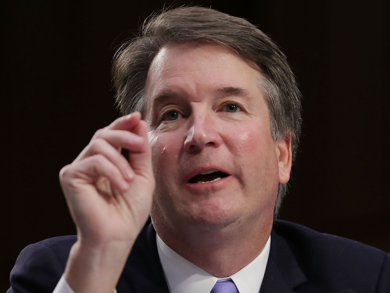 Supreme Court nominee Judge Brett Kavanaugh testifies before the Senate Judiciary Committee on the third day of his Supreme Court confirmation hearing on Capitol Hill September 6, 2018, in Washington, DC.